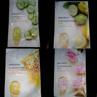 Innisfree sheetmask