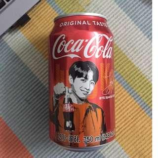 FREE DELIVERY! Jung Kook BTS Coca Cola (Imported from South Korea)