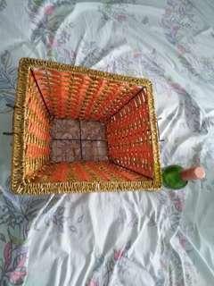 Square CNY Hamper basket