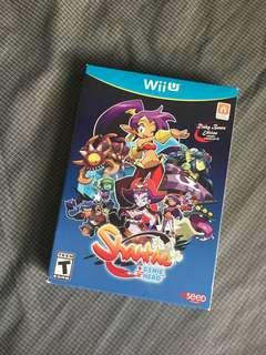 Wii U Shantae 1/2 Genie Hero with Sound Track