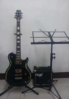 PEAVEY'S JACK DANIEL with NUX MIGHTY8 GUITAR AMP.