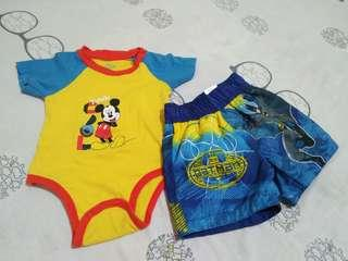 Onies & short for 12 months old baby boy..