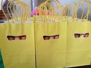 Ready-stock Ninjago paper bags