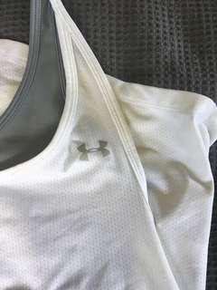 Underarmour Singlet with attached crop