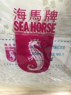 Sea horse trifold mattresd