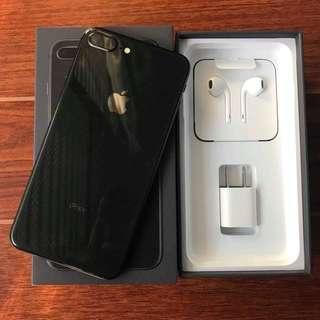 Iphone 8+ 64gb black legit fu