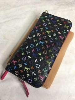 Lv multicolor insolite wallet