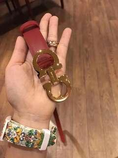 Salvatore Ferragamo Womens Belt