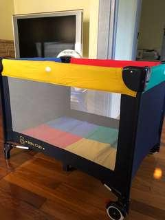 Baby Club Colourful Portable PlayCot
