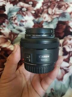 🚚 Canon EF 50mm f/1.8 STM Lens