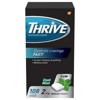 Thrive Gum - Stop Smoking Aid