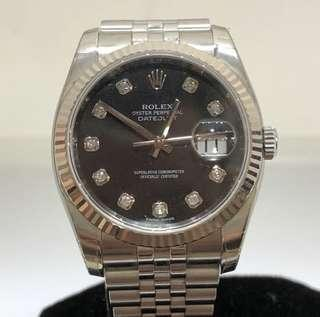 Rolex Datejust 116234, Diamond Index