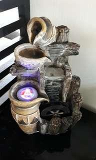 Feng shui Table Top Water feature wheel