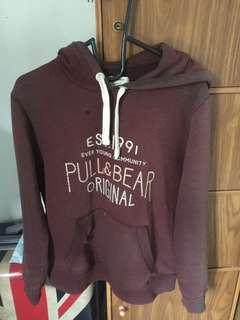 pull&bear original maroon