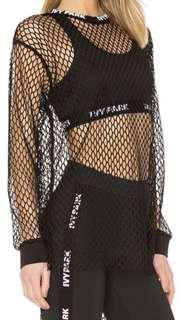 IVY PARK - Mesh Long Sleeve Top