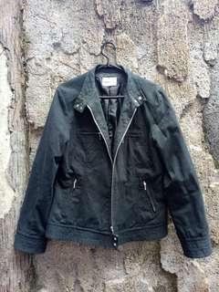 Jaket jeans wrn hitam