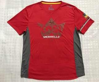 Running T-Shirt - Merrell King of Sg Lembing 2017
