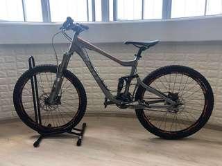 Giant Trance full suspension bike