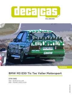 """1:18 MiniChamps M3 E30 DTM """"Tic Tac"""""""