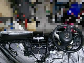 Mazda 3 2014 Dashboard Complete Set
