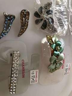 Chameleon hair accessories
