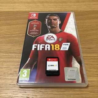 Switch FIFA18 (世界杯特別版)