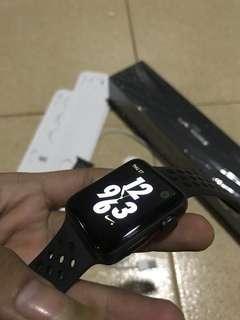 Iwatch series 3 42mm apple watch ex ibox baru pake 2bulan