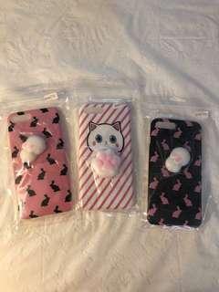 Iphone 7plus case (3pcs)