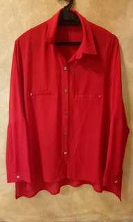 Red Blouse#CNYRED
