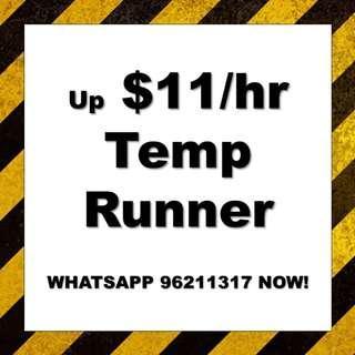 up $11/hr!!! 3 months   Food Runner   Tampines   WA 96211317
