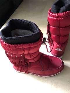 8-10 yo girl's winter snow boots