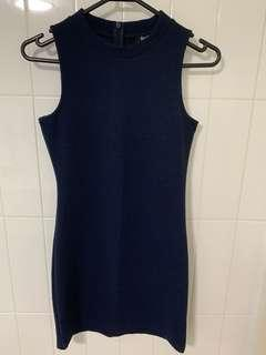 BRAND NEW Bardot Junior Navy Dress size 12