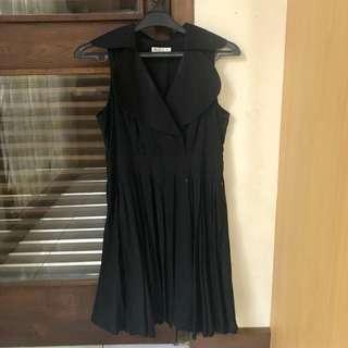 NYLA Black Pleats Dress