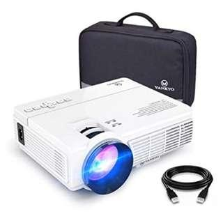 🚚 Vankyo Leisure 3 (Upgraded Version) 2400 Lux LED Portable Projector with Carrying Bag, Video Projector with 170'' and 1080P Support, Compatible with Fire TV Stick, PS4, HDMI, VGA, TF, AV and USB