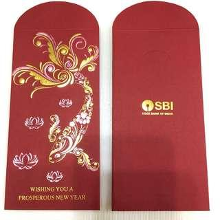 🚚 SBI 2019 CNY Red Packet (8 pieces)