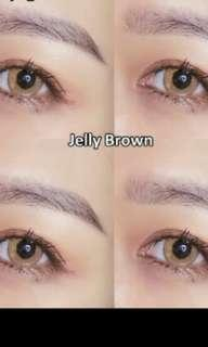 Jelly brown Contact Lens