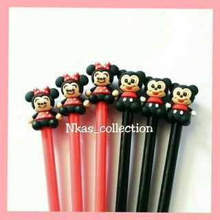 Pulpen Minnie & Mickey Mouse