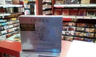 Queen Greatest Hits I, II, III 3cds Boxset