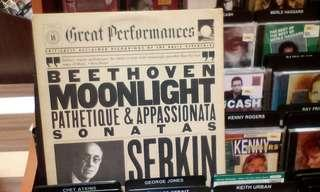 Beethoven: Moonlight, Pathetique & Appassionata Piano Sonatas LP, Opp. 13, 27:2, 57