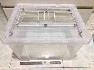Large hamster cage for syrian or dwarf hamsters