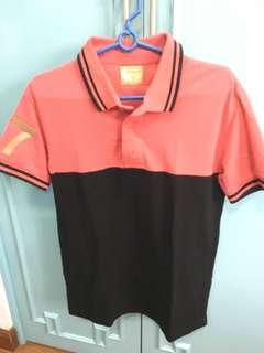 Au bench polo shirts large and xs