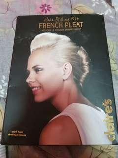 Hair styling kit French Pleat
