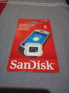 Sandisk Micro SD Memory Card