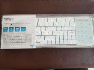 Bluetooth keyboard with numeric touchpad #amplifyjuly35