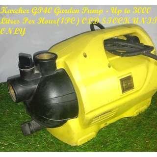 Karcher GP40 Garden Pump Up to 3000 LitresPer Hour 650watts
