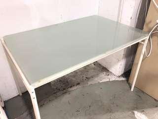 二手玻璃檯 餐檯 工作檯