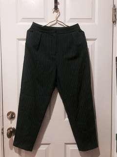 🚚 Topshop 帥氣直條紋西裝褲
