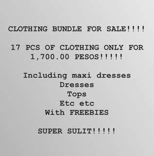 CLOTHING BUNDLE SUPER SULIT!!!