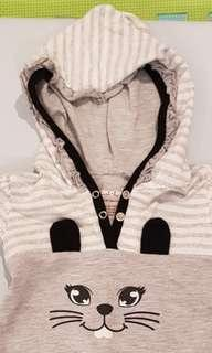 Hush Hush Romper with Hood (6-9 months)