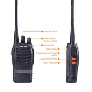 Walkie Talkie Baofeng BF-888S 2 for $35! (Good range and battery)